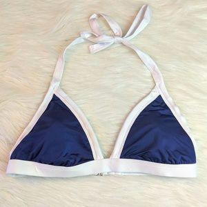 Mossimo Color Block Bikini Top Size XL